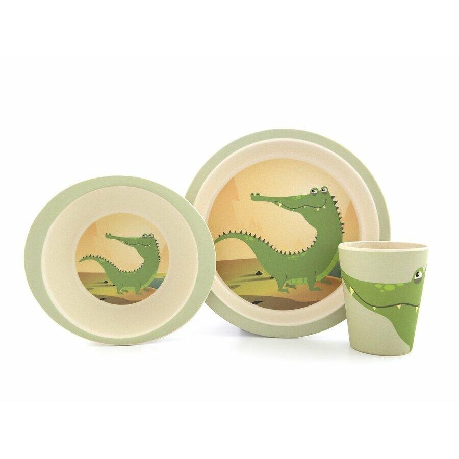 photos officielles 4fa02 3a053 Coffret vaisselle en bambou - Renard